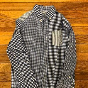 Like NEW - Boys J. Crew Cotton Shirt